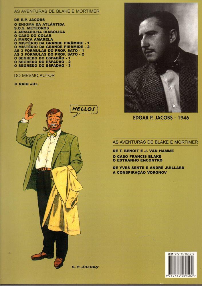 Prancha de: BLAKE ET MORTIMER - 2 . SEGREDO DO ESPADÃO (O) - V. 2