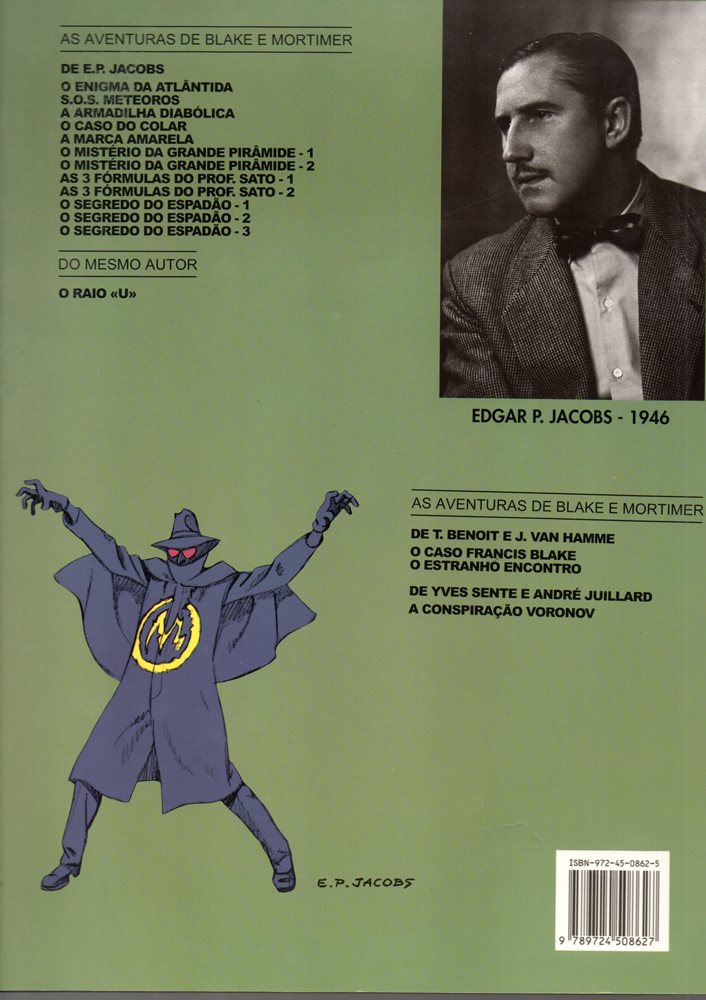Prancha de: BLAKE ET MORTIMER - 6 . MARCA AMARELA (A)