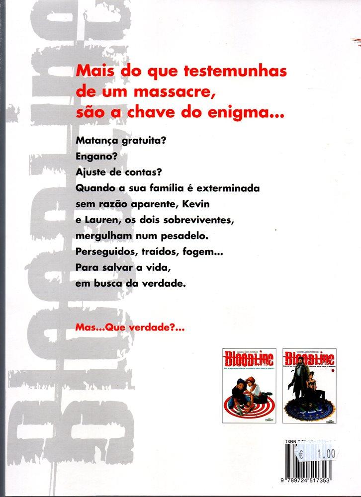 Prancha de: BLOODLINE - 2 . BATIDA (A)