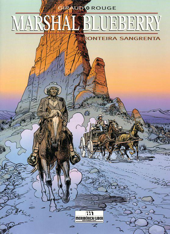 Capa  BLUEBERRY MARSHAL - 3 . FRONTEIRA SANGRENTA