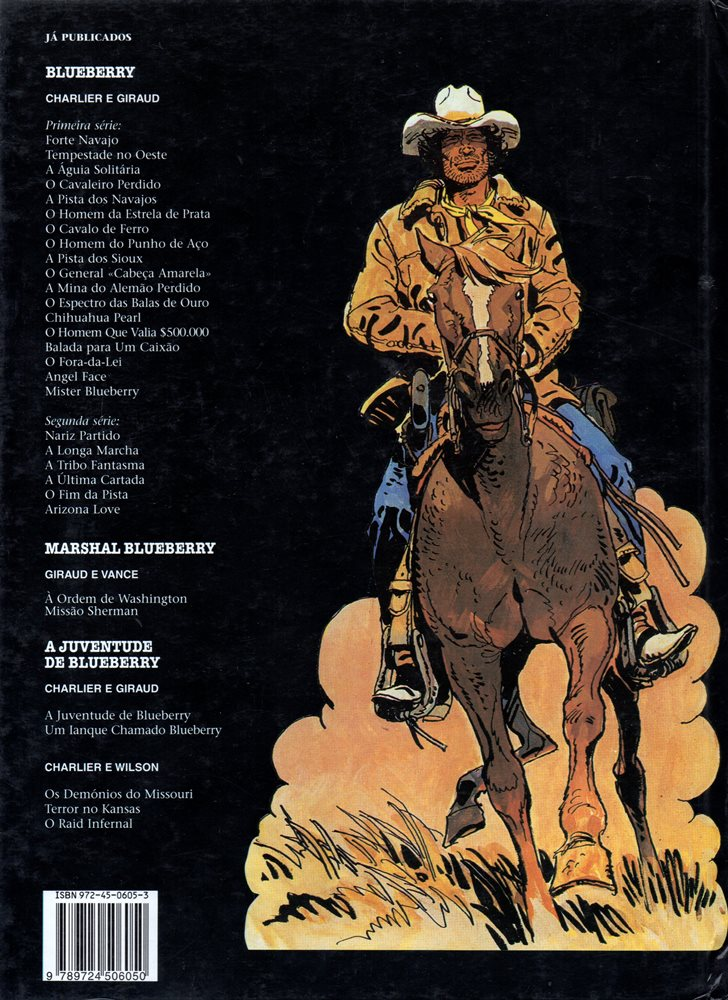 Prancha de: BLUEBERRY - 5 . PISTA DOS NAVAJOS (A)