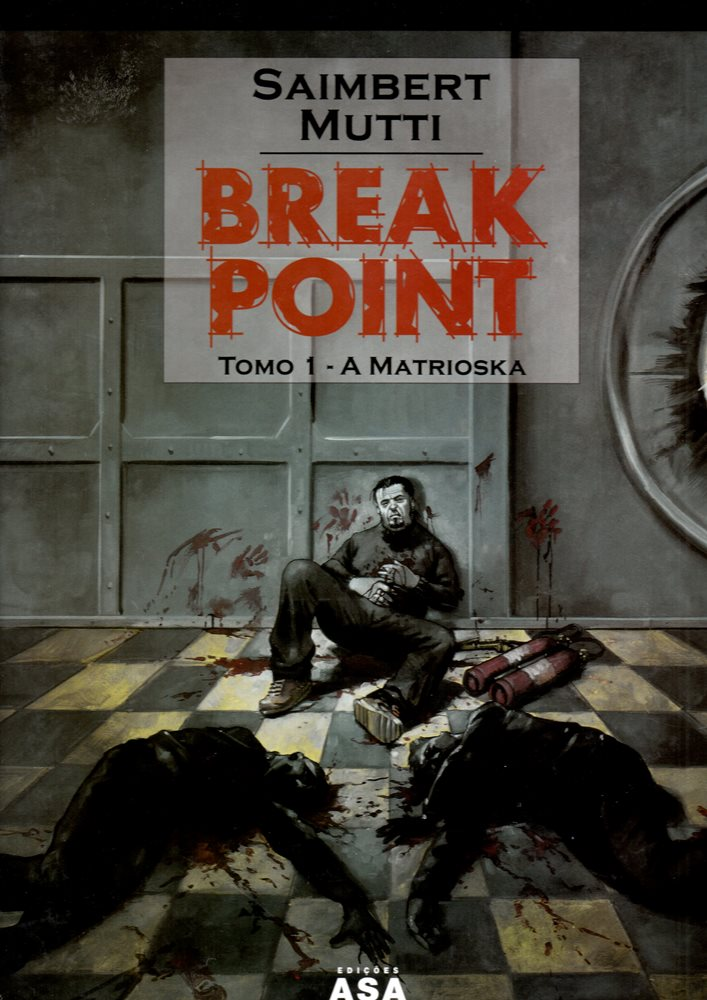 Capa de: BREAK POINT - 1 . MATRIOSKA (A)