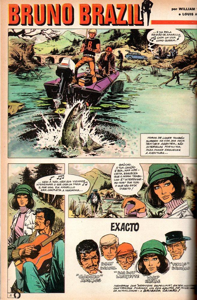 Prancha de: BRUNO BRAZIL - 4 . CIDADE PETRIFICADA (A)