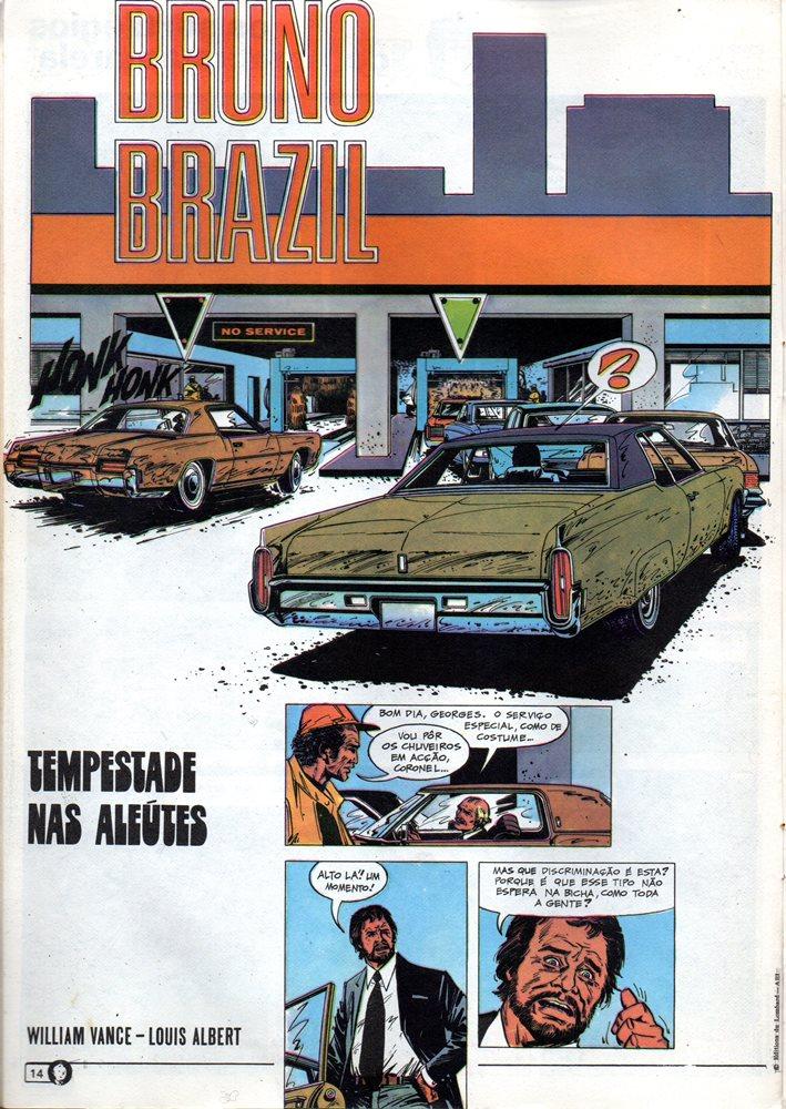 Prancha de: BRUNO BRAZIL - 8 . TEMPESTADE NAS ALEÚTES