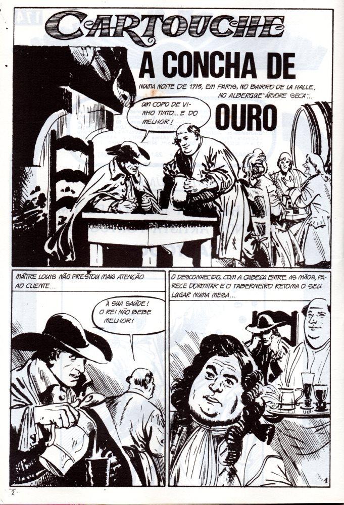 Prancha de: CARTOUCHE - 1 . CONCHA DE OURO (A)