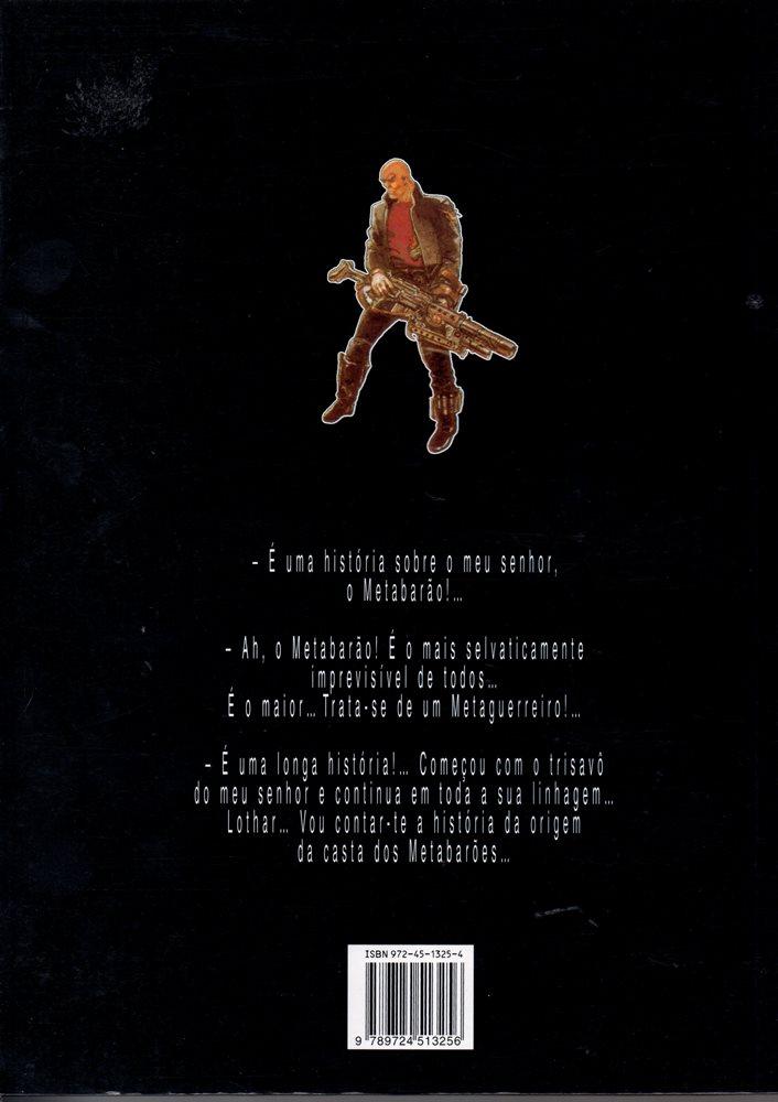 Prancha de: CASTA DOS METABARÕES (A) - 1 . OTHON, O TRISAVÔ