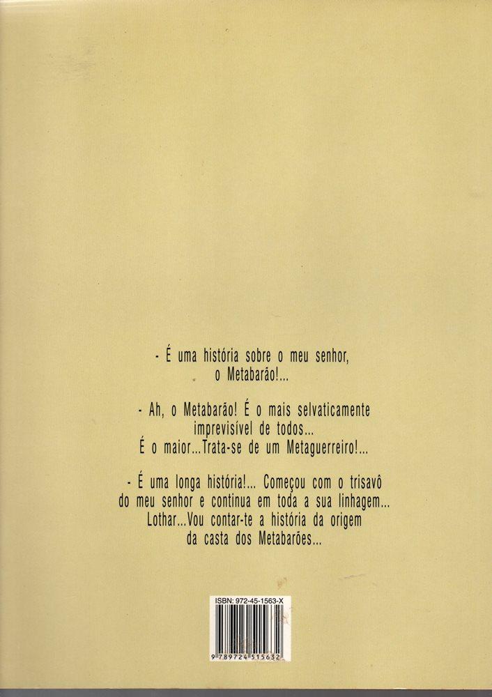 Prancha de: CASTA DOS METABARÕES (A) - 3 . AGNAR, O BISAVÔ