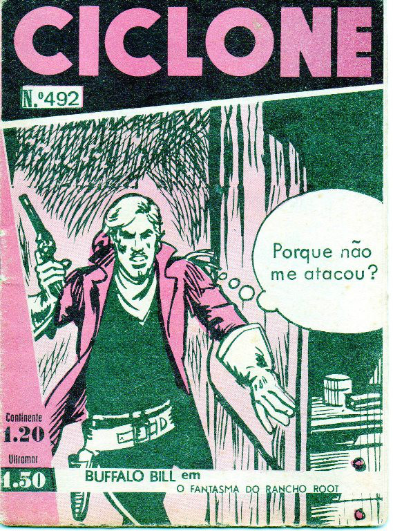 BUFFALO BILL - 1 . FANTASMA DO RANCHO ROOT (O)