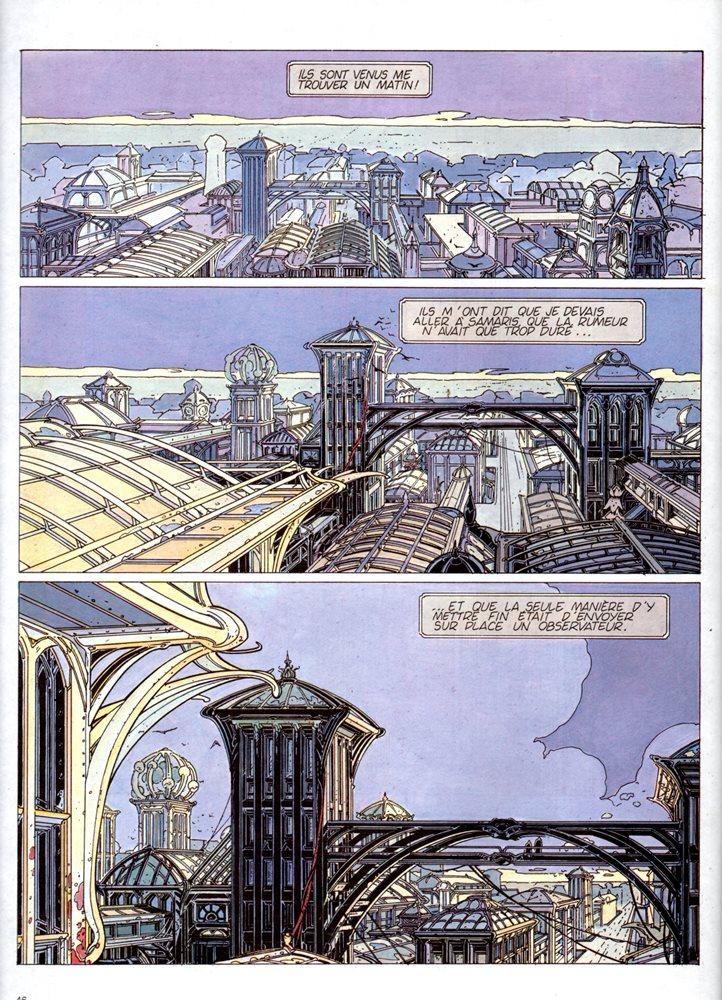 Prancha de: CITÉS OBSCURES (LES) - 1 . MURAILLES DE SAMARIS (LES)