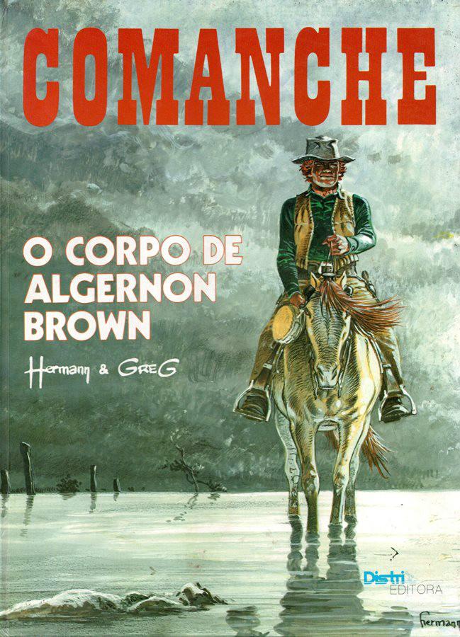 COMANCHE - 10 . CORPO DE ALGERNON BROWN (O)