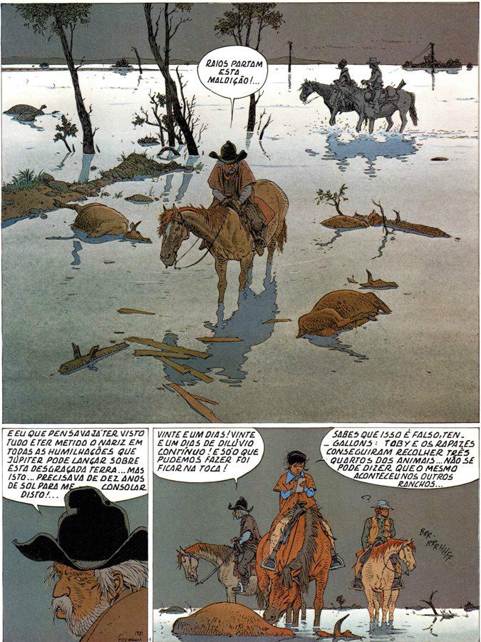 Prancha de: COMANCHE - 10 . CORPO DE ALGERNON BROWN (O)
