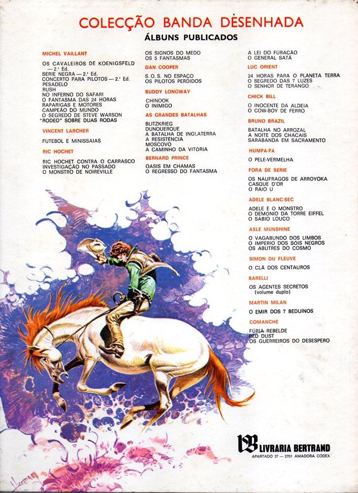 Prancha de: COMANCHE - 2 . GUERREIROS DO DESESPERO (OS)