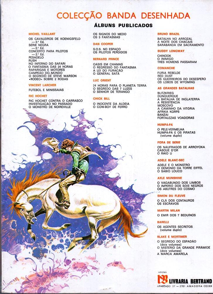 Prancha de: COMANCHE - 3 . LOBOS DE WYOMING (OS)