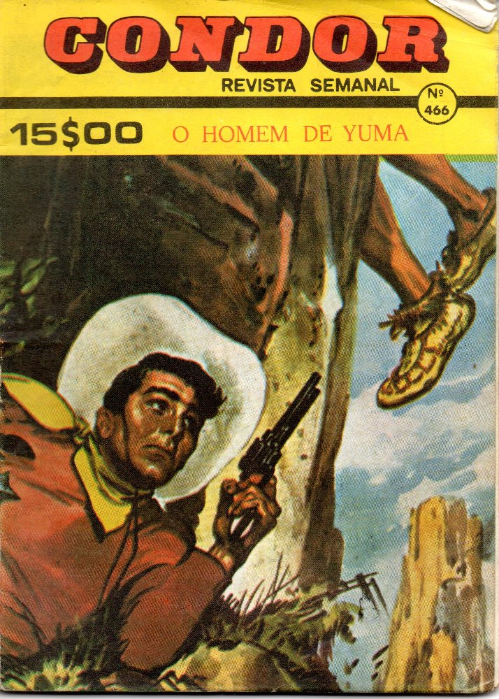 BUCK JONES - 69 . HOMEM DE YUMA (O)