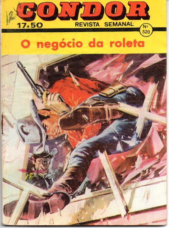BUCK JONES - 19 . NEGÓCIO DA ROLETA (O)