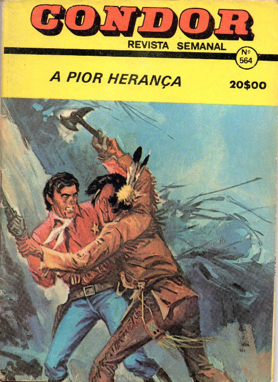 BUCK JONES - 26 . PIOR HERANÇA (A)