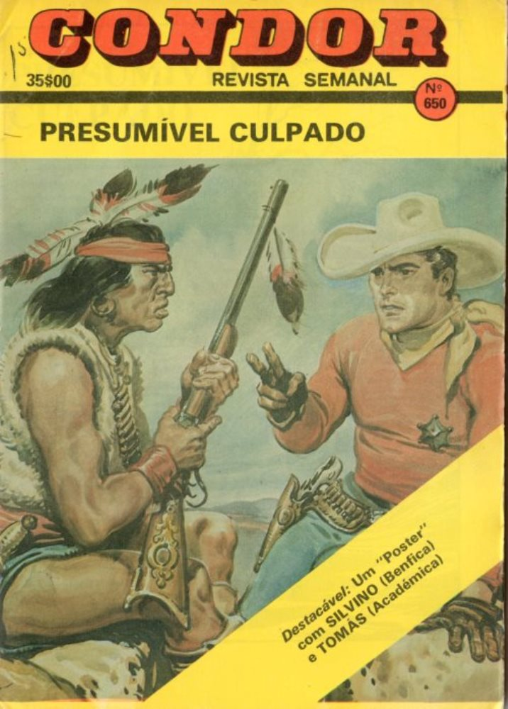 BUCK JONES - 27 . PRESUMÍVEL CULPADO