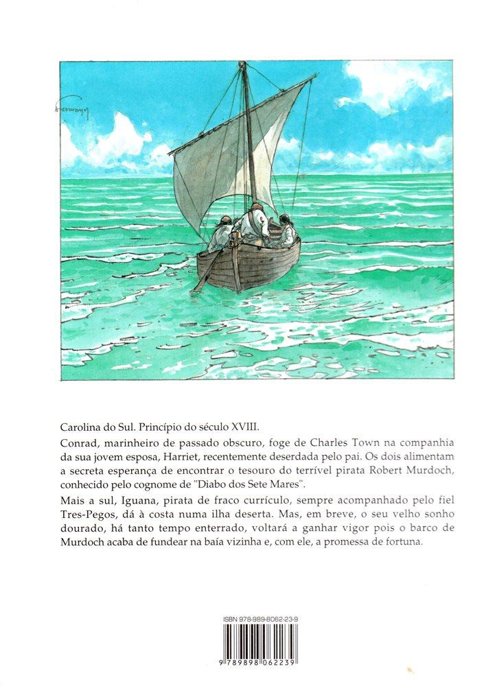Prancha de: DIABO DOS SETE MARES - 1 . DIABO DOS SETE MARES - TOMO 1 (O)