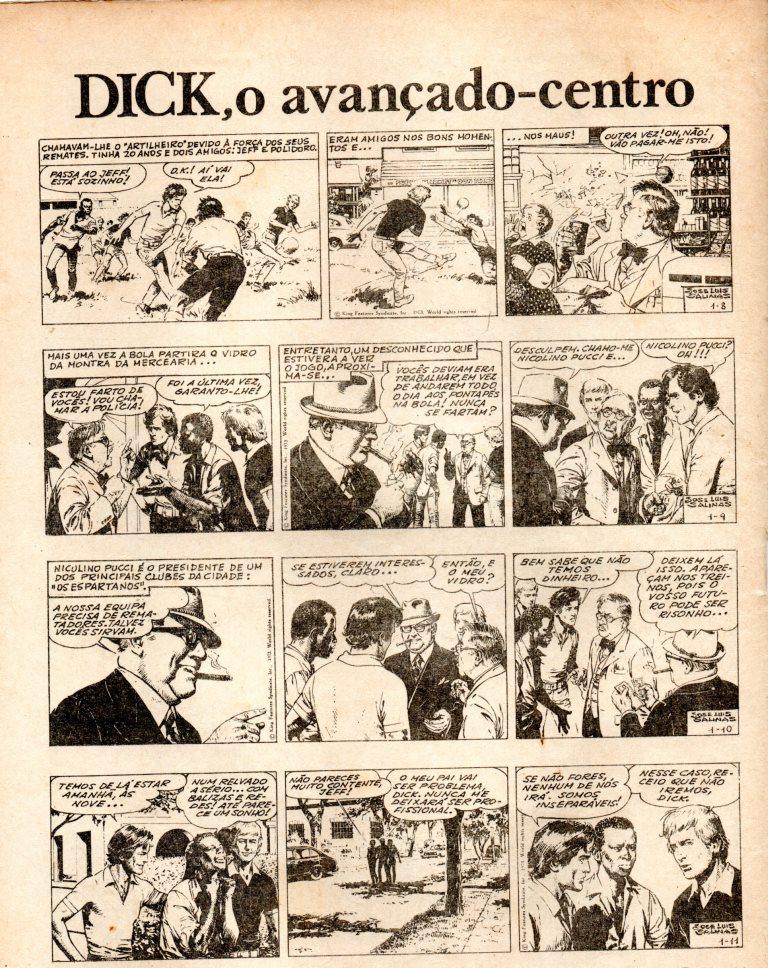 Prancha de: DICK, O AVANÇADO DE CENTRO - 1 . DICK, O AVANÇADO DE CENTRO I