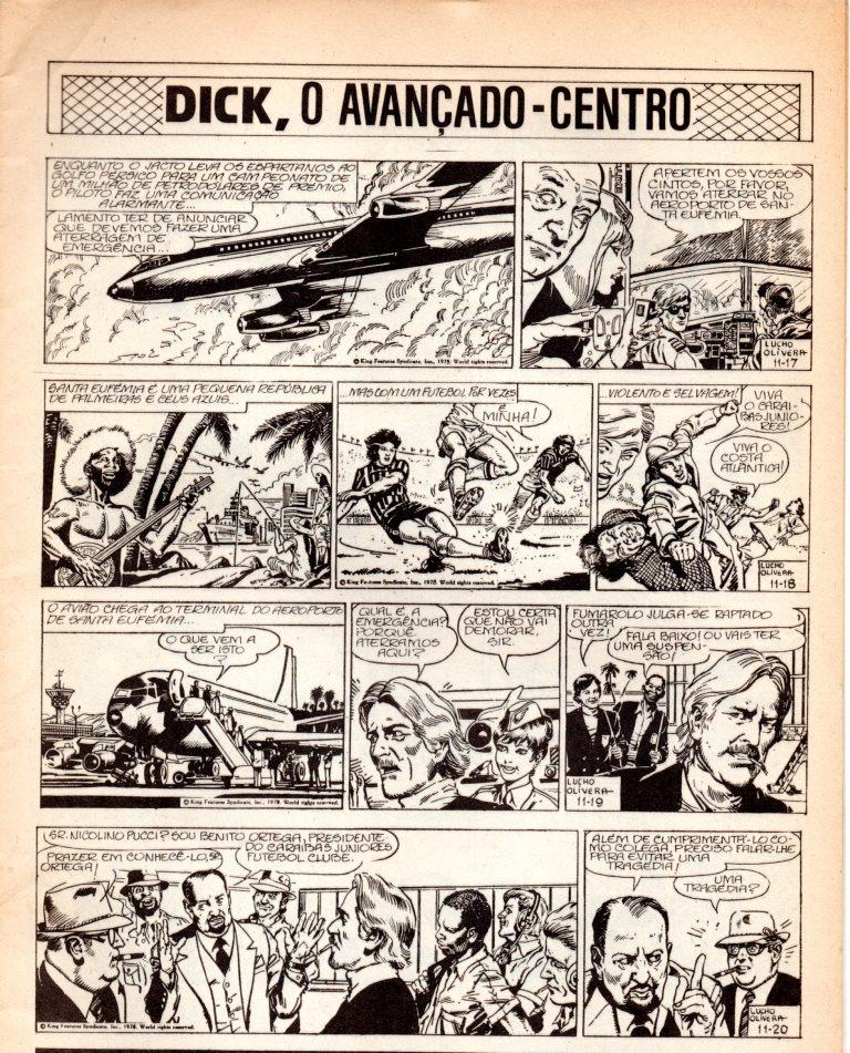 Prancha de: DICK, O AVANÇADO DE CENTRO - 11 . DICK, O AVANÇADO DE CENTRO X