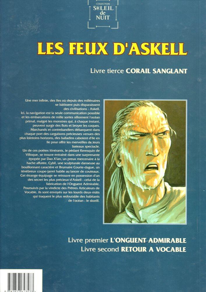 Prancha de: FOGOS DE ASKELL (OS) - 3 . CORAIL SANGLANT