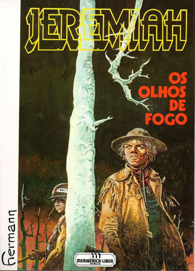 Capa  JEREMIAH - 4 . OLHOS DE FOGO (OS)