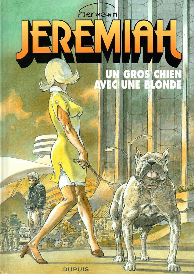 JEREMIAH - 33 . GROS CHIEN AVEC UNE BLONDE (UN)