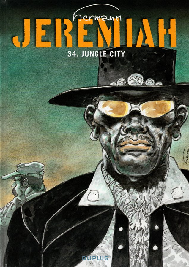 Capa de: JEREMIAH - 34 . JUNGLE CITY