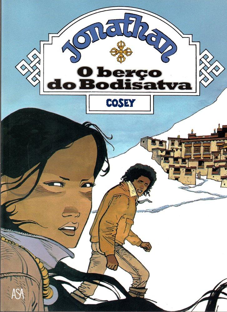 Capa  JONATHAN - 4 . BERÇO DO BODHISATTVA (O)