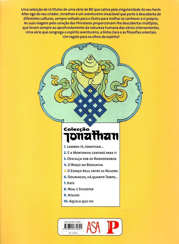 Prancha de: JONATHAN - 5 . ESPAÇO AZUL ENTRE AS NUVENS (O)