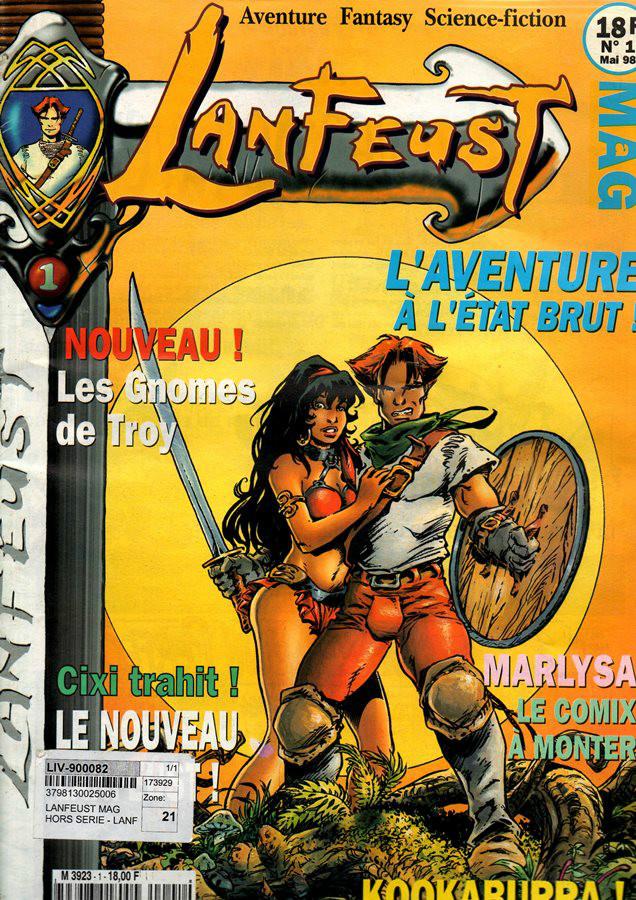 LANFEUST DE TROY - 6 . CIXI IMPÉRATERICE
