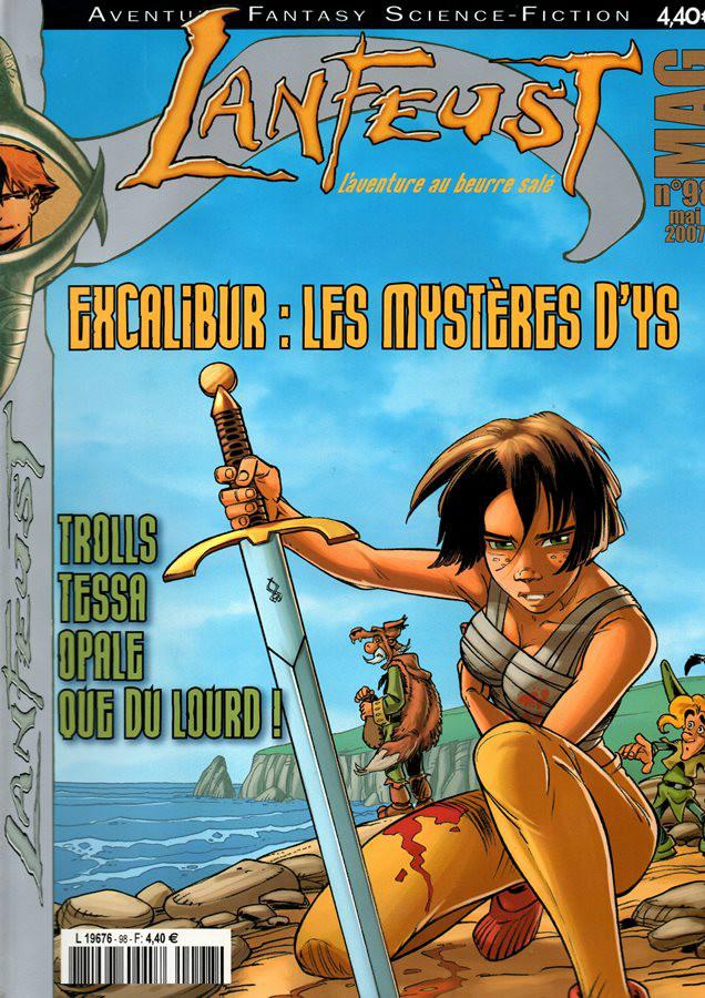 CHANT DE EXCALIBUR (LE) - 5 . YS LA MAGNIFIQUE