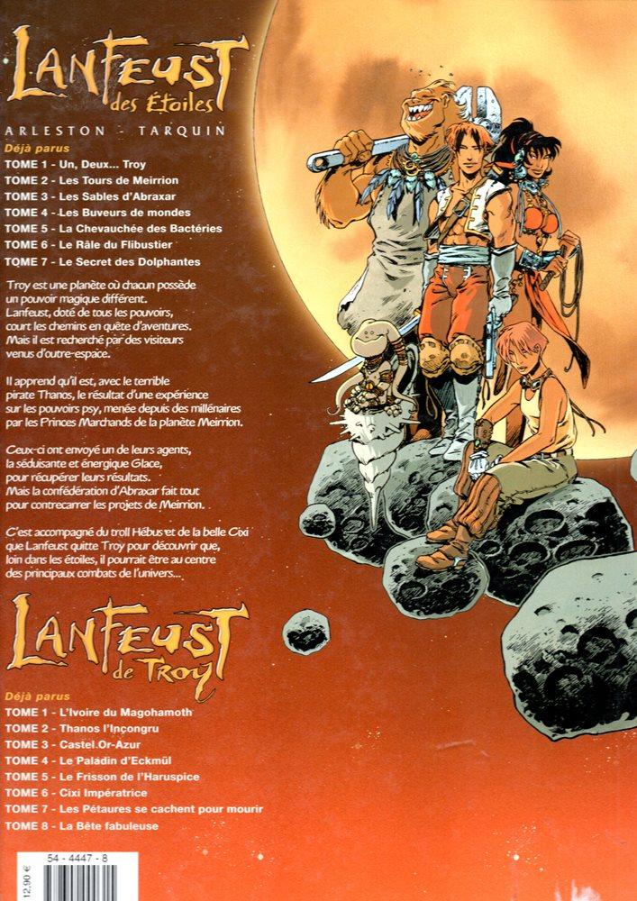 Prancha de: LANFEUST DES ÉTOILES - 7 . SECRET DES DOLPHANTES (LE)