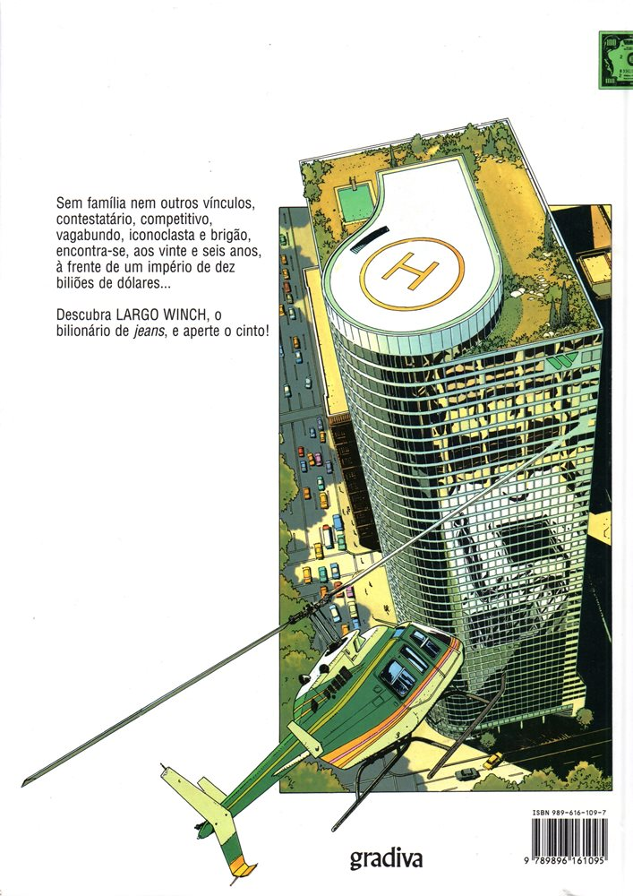 Prancha de: LARGO WINCH - 5 . H