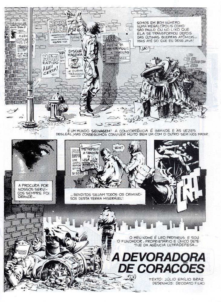 Prancha de: LEO PROTHEUS - 1 . DEVORADORA DE CORAÇÕES (A)