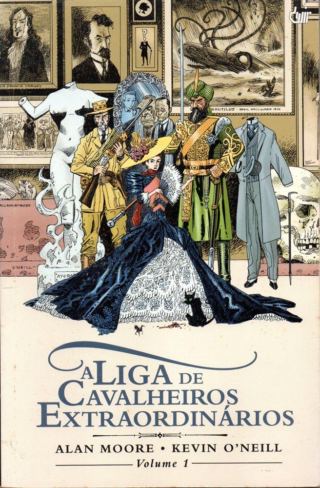 LIGA DE CAVALEIROS EXTRAORDINÁRIOS (A) - 1 . LIGA DE CAVALEIROS EXTRAORDINÁRIOS (A) - V.1