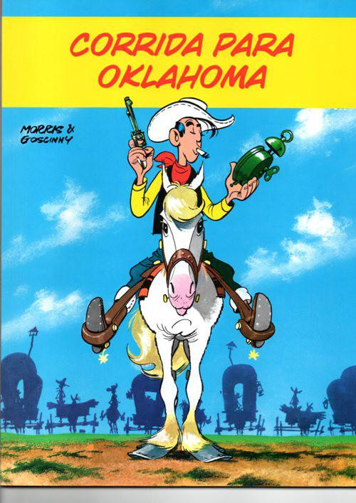 LUCKY LUKE - 14 . CORRIDA PARA OKLAHOMA