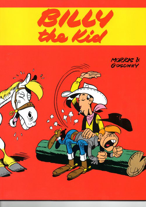 LUCKY LUKE - 20 . BILLY THE KID
