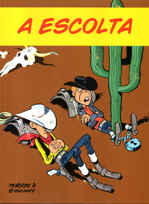 LUCKY LUKE - 28 . A ESCOLTA