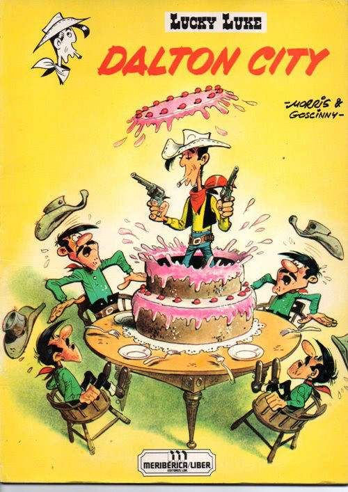 Capa de: LUCKY LUKE - 34 . DALTON CITY