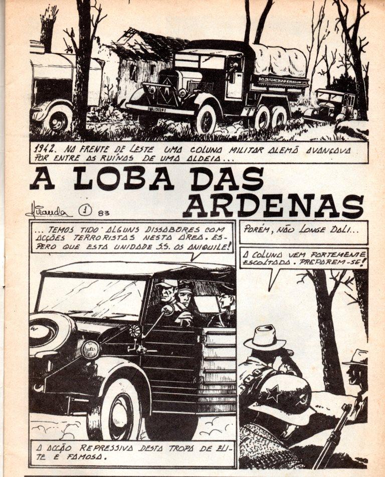 Prancha de: LOBA DAS ARDENAS (A) - 1 . LOBA DAS ARDENAS (A)