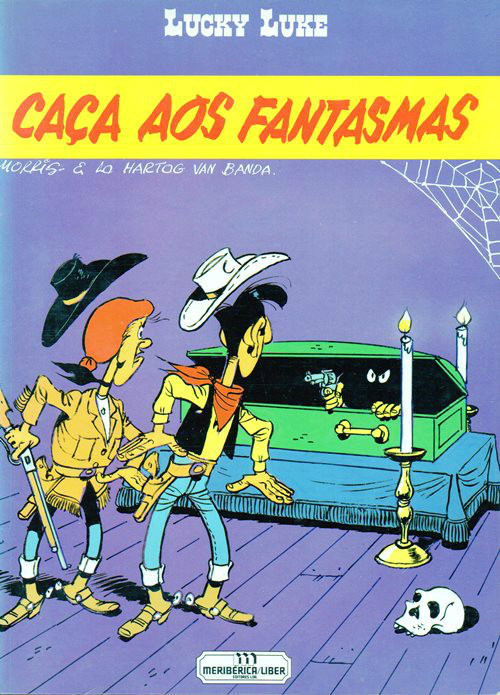 LUCKY LUKE - 61 . CAÇA AOS FANTASMAS