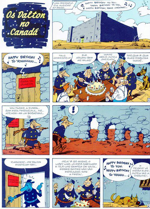 Prancha de: LUCKY LUKE - 22 . DALTON NO CANADÁ (OS)
