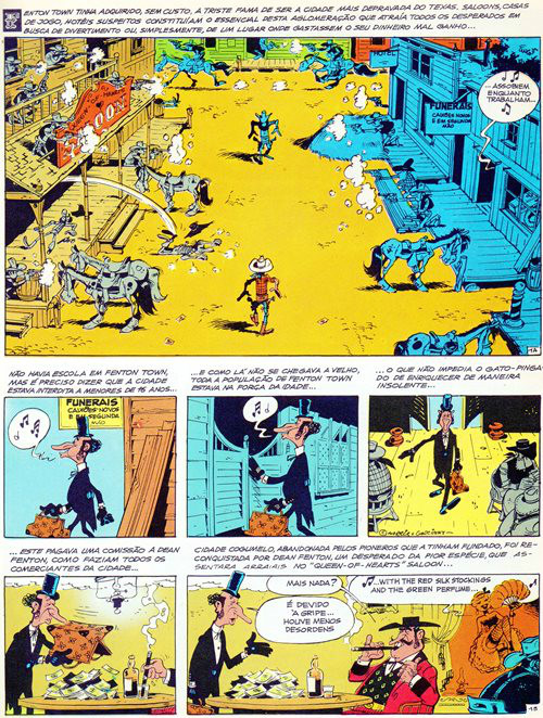 Prancha de: LUCKY LUKE - 34 . DALTON CITY