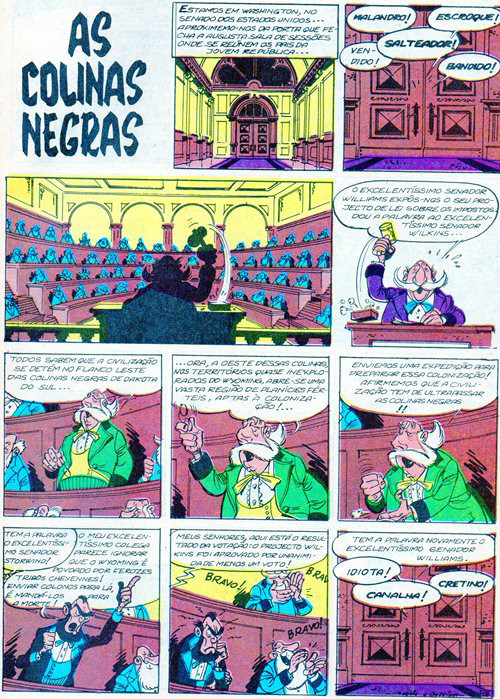 Prancha de: LUCKY LUKE - 21 . AS COLINAS NEGRAS