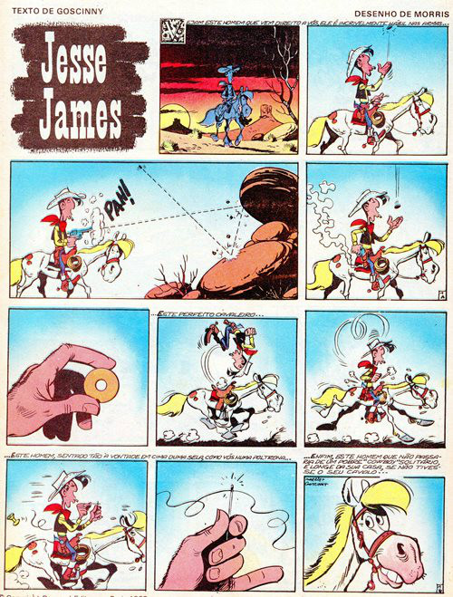 Prancha de: LUCKY LUKE - 35 . JESSE JAMES