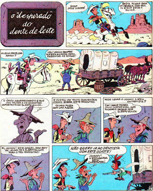 Prancha de: LUCKY LUKE - 42 . 7 HISTÓRIAS COMPLETAS - 1ª SÉRIE