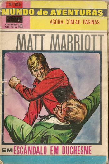 MATT MARRIOTT - 1 . ESCÂNDALO EM DUCHESNE
