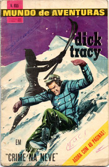 DICK TRACY - 1 . CRIME NA NEVE
