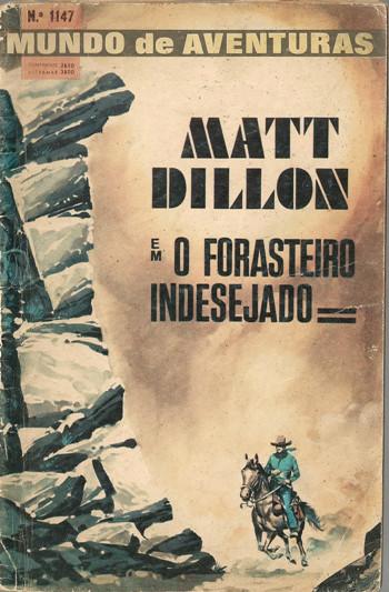 MATT DILLON - 1 . FORASTEIRO INDESEJADO (O)